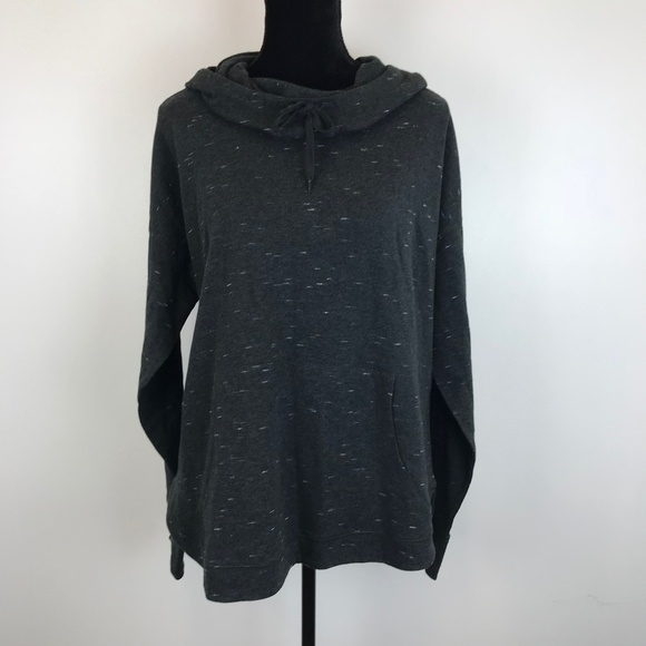 bc91caf0 Champion Sweaters | Gray Marled Cowl Neck Hoodie | Poshmark